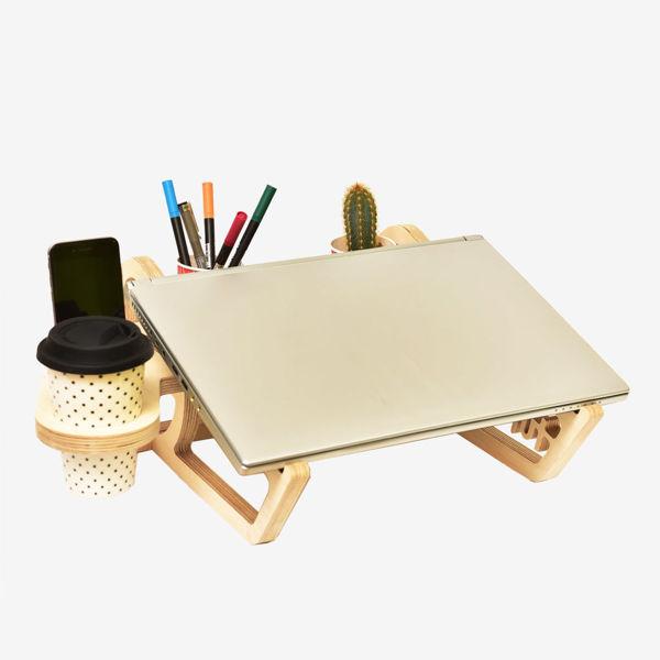 Wocoo Ahşap Laptop Standı resmi
